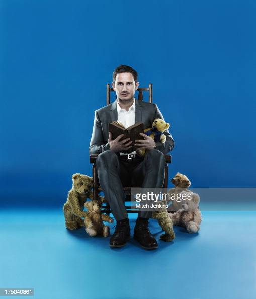 Footballer Frank Lampard is photographed for the Times on April 24 2013 in London England