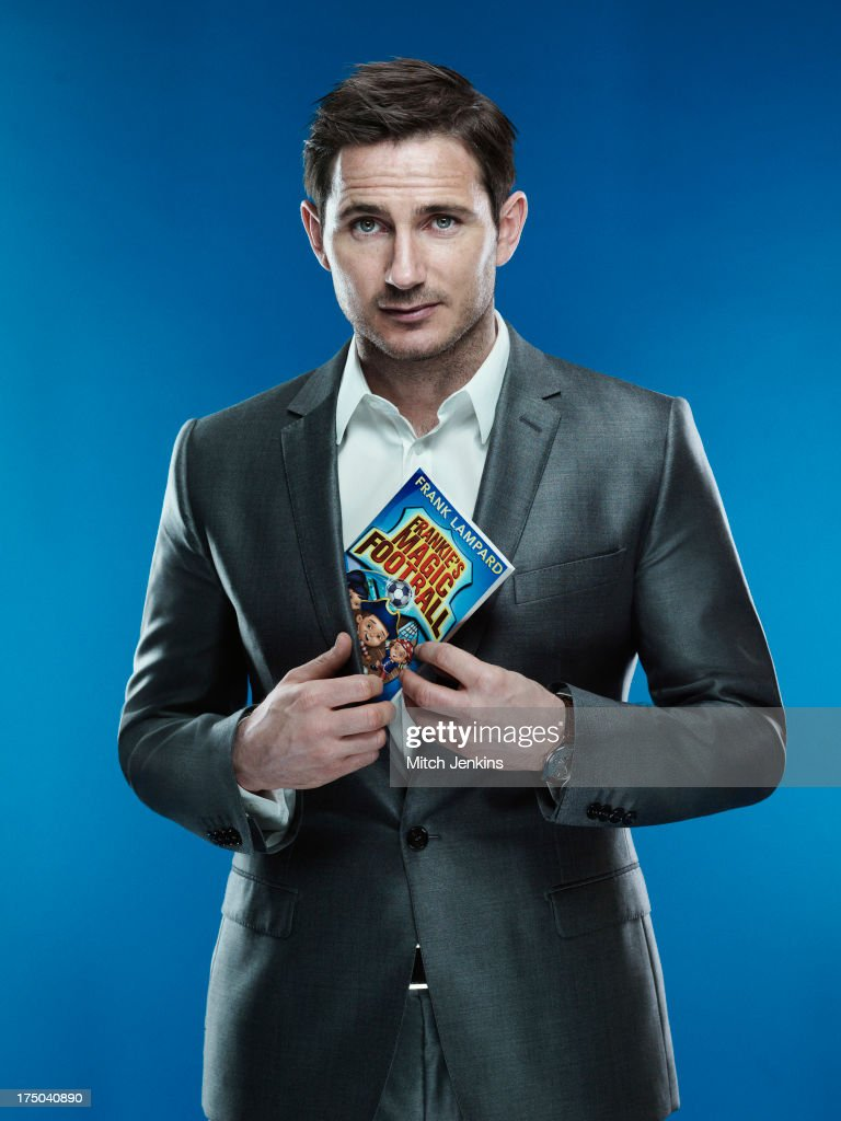 Footballer Frank Lampard is photographed for the Times on April 24, 2013 in London, England.