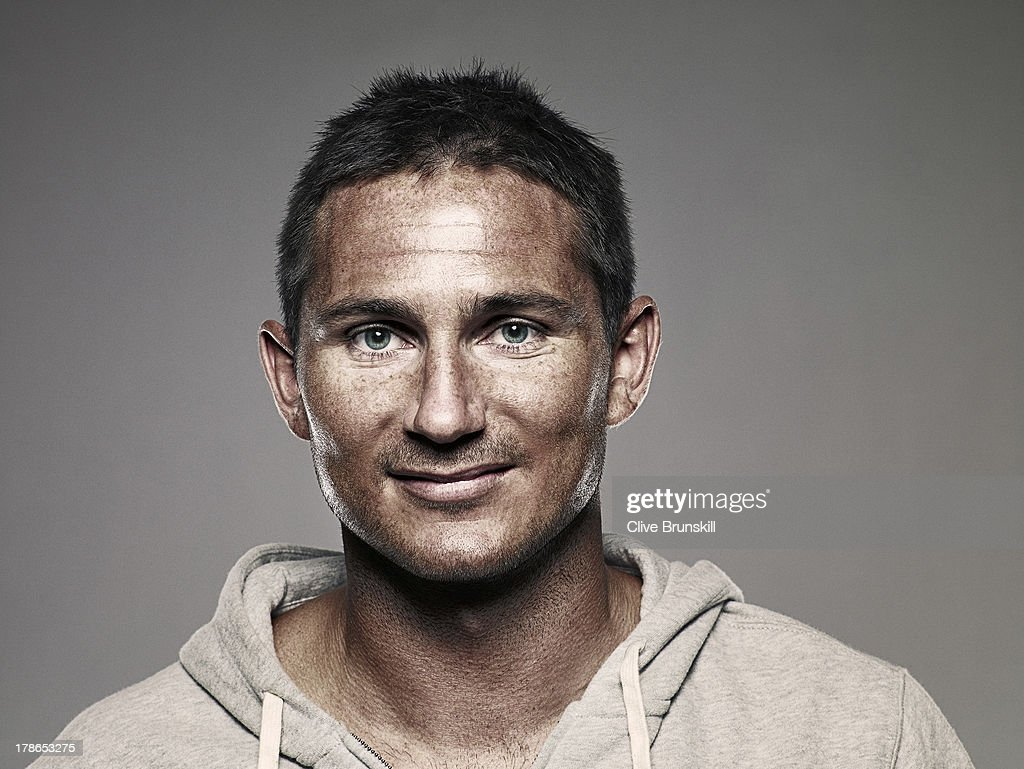 Footballer Frank Lampard is photographed on June 30, 2009 in London, England.