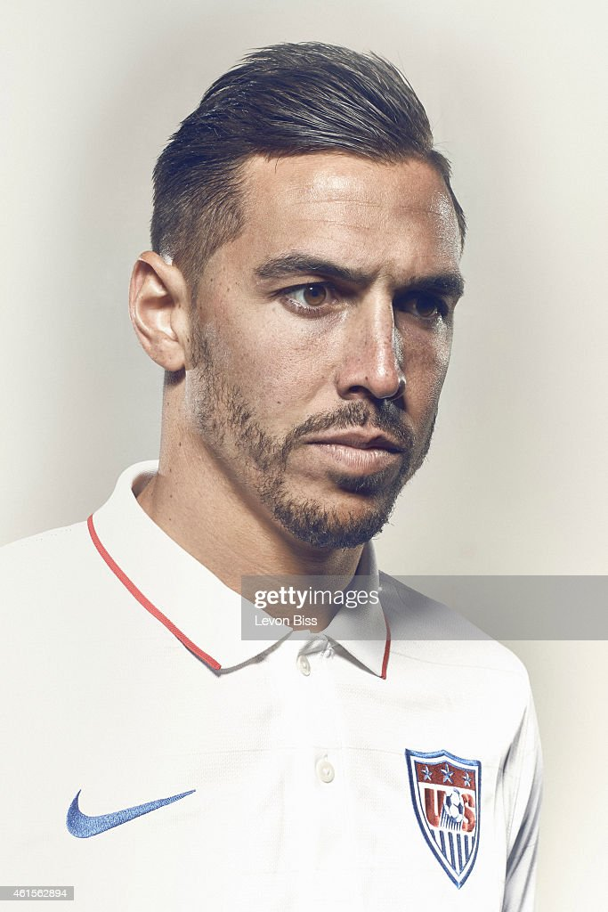 Footballer <a gi-track='captionPersonalityLinkClicked' href=/galleries/search?phrase=Geoff+Cameron&family=editorial&specificpeople=5101639 ng-click='$event.stopPropagation()'>Geoff Cameron</a> is photographed for Time magazine on March 3, 2014 in Frankfurt, Germany.