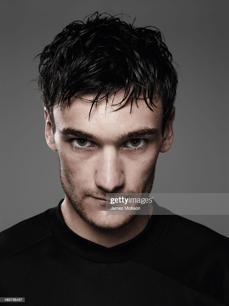 Footballer Hugo Lloris is photographed on April 1, 2010 in Paris, France.