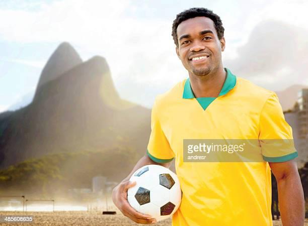 リオでフットボール選手