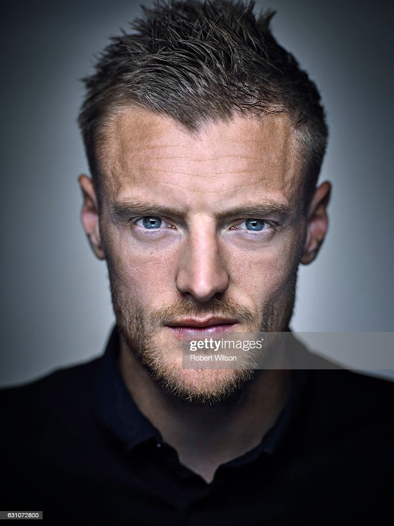 Footballer Jamie Vardy is photographed for Ebury Press on May 4, 2016 in London, England.