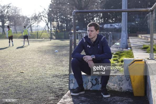 Footballer Jan Vertonghen is photographed on February 22 2013 in London England