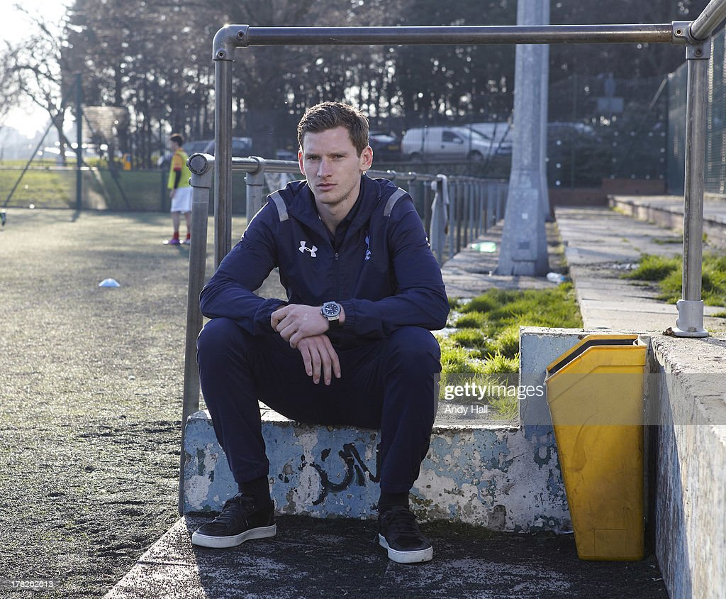 Footballer <a gi-track='captionPersonalityLinkClicked' href=/galleries/search?phrase=Jan+Vertonghen&family=editorial&specificpeople=1360499 ng-click='$event.stopPropagation()'>Jan Vertonghen</a> is photographed on February 22, 2013 in London, England.
