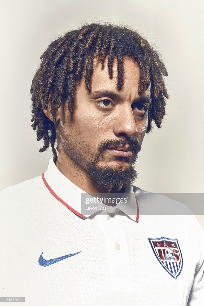 Footballer Jermain Jones is photographed for Time magazine on March 3, 2014 in Frankfurt, Germany.