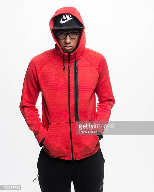 Footballer Jerome Boateng is photographed for Sueddeutsche Zeitung magazine in Munich Germany