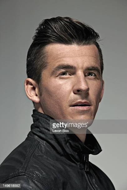 Footballer Joey Barton is photographed for the Observer on March 29 2012 in London England