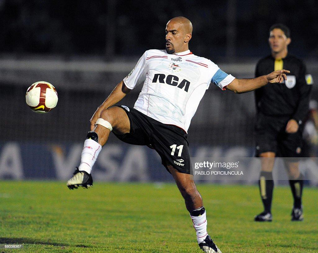 Footballer Juan Sebastian Veron of Arge