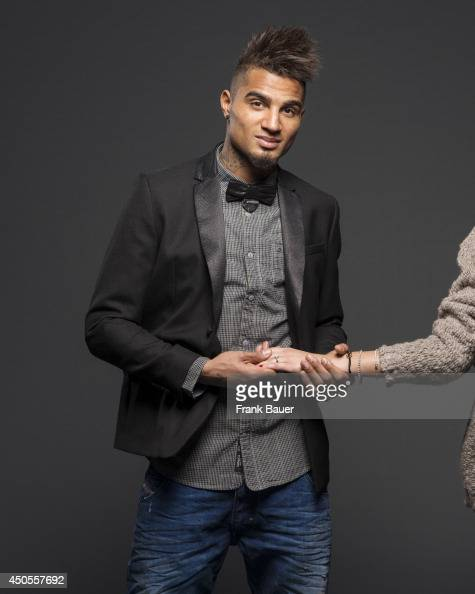 Footballer KevinPrince Boateng is photographed for Sueddeutsche Zeitung magazine in Milan Italy