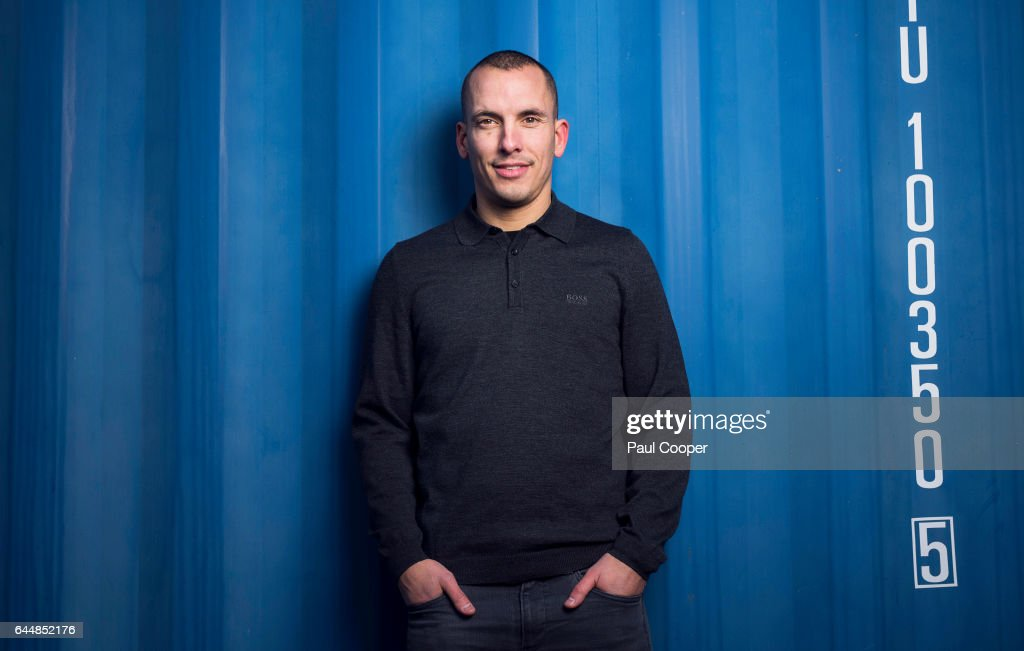 Footballer Leon Osman is photographed on October 14, 2014 in Liverpool, England.