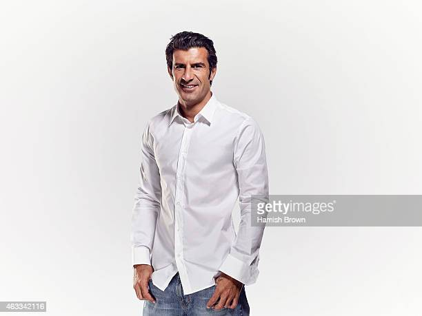 Footballer Luis Figo is photographed on September 1 2010 in London England