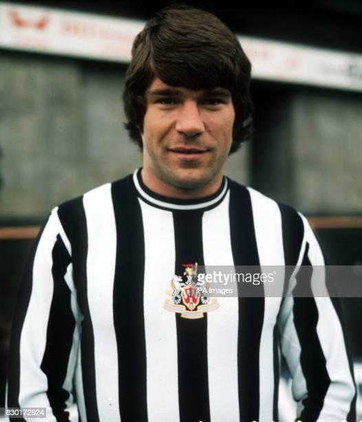 Footballer Malcolm Macdonald of Newcastle United 1974