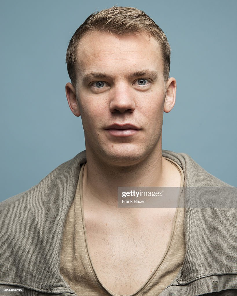 Footballer <a gi-track='captionPersonalityLinkClicked' href=/galleries/search?phrase=Manuel+Neuer&family=editorial&specificpeople=764621 ng-click='$event.stopPropagation()'>Manuel Neuer</a> is photographed for Db Mobil magazine in Munich, Germany on March 12, 2014.