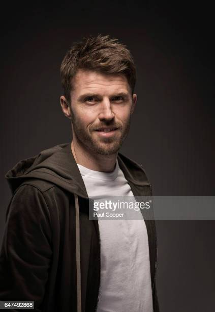 Footballer Michael Carrick is photographed for Metro newspaper on February 22 2017 in Manchester England