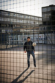Footballer Mile Jedinak is photographed for Men's Health Magazine on November 4 2014 in London England