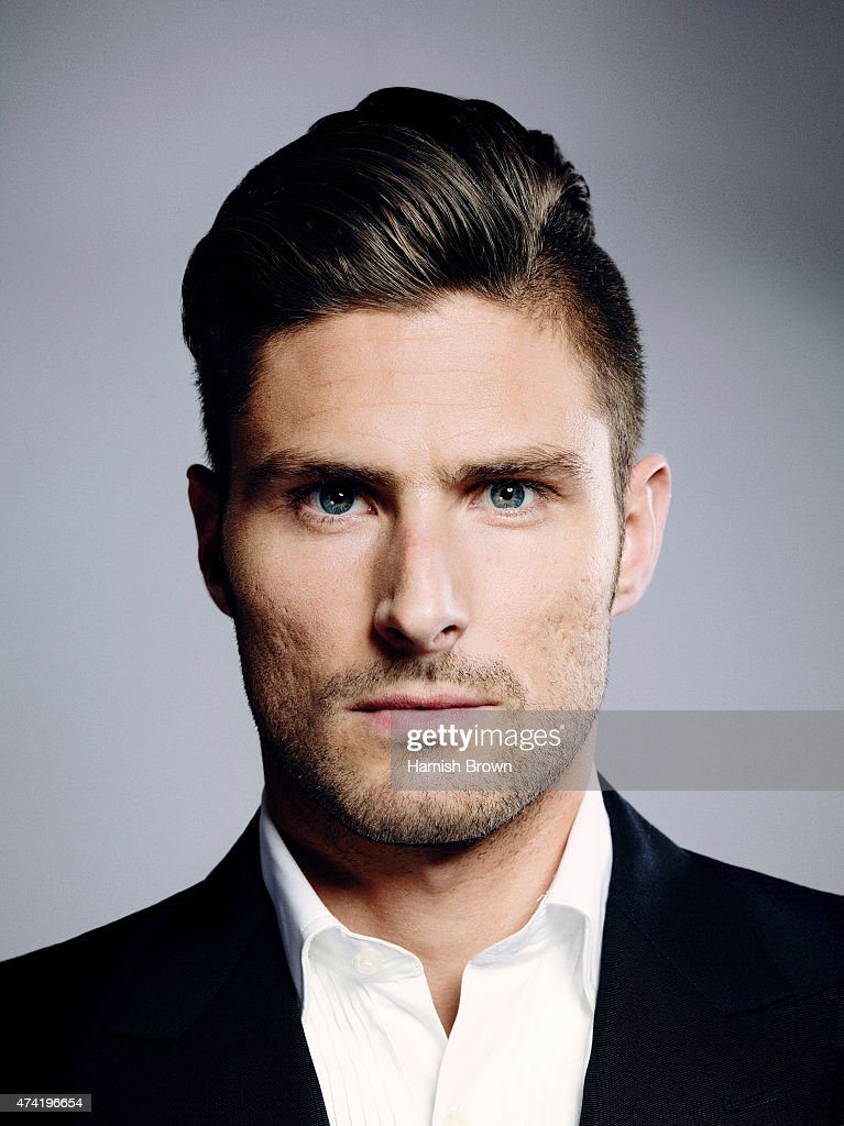 Footballer <a gi-track='captionPersonalityLinkClicked' href=/galleries/search?phrase=Olivier+Giroud&family=editorial&specificpeople=5678034 ng-click='$event.stopPropagation()'>Olivier Giroud</a> is photographed for ES magazine on November 10, 2014 in London, England.