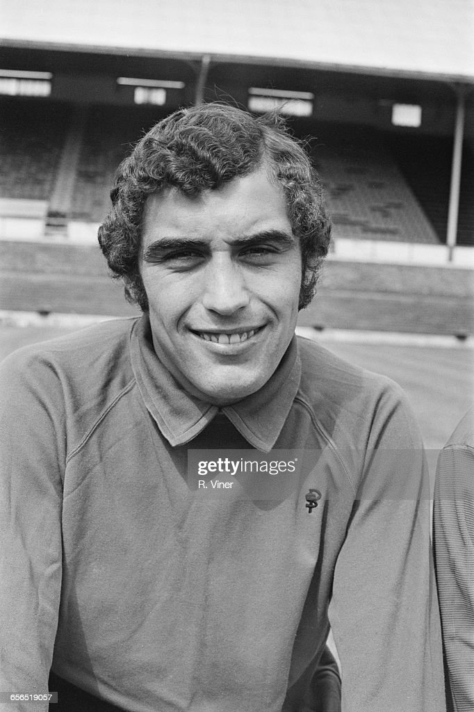 Footballer Peter Shilton of Leicester City F.C., UK, 21st July 1971.