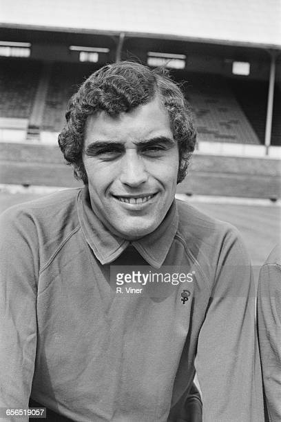Footballer Peter Shilton of Leicester City FC UK 21st July 1971