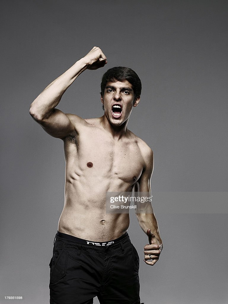 Footballer Ricardo Kaka is photographed on June 29, 2009 in Madrid, Spain.