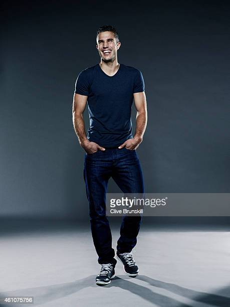 Footballer Robin Van Persie is photographed on September 18 2013 in London England