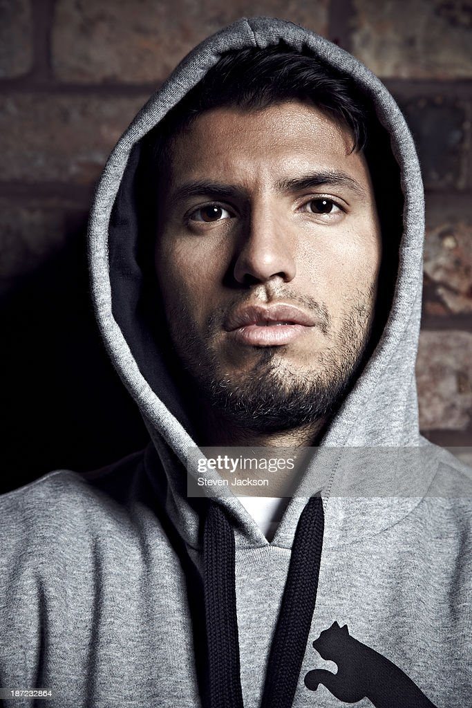 Footballer <a gi-track='captionPersonalityLinkClicked' href=/galleries/search?phrase=Sergio+Aguero&family=editorial&specificpeople=1100704 ng-click='$event.stopPropagation()'>Sergio Aguero</a> is photographed on August 9, 2012 in Manchester, England.