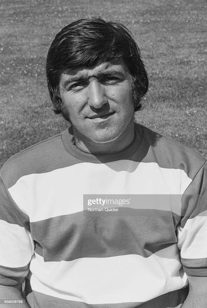 Footballer Terry Venables of Queens Park Rangers F.C., UK, 15th July 1971.
