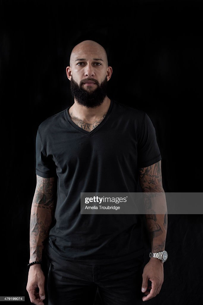 Tim Howard, Portrait shoot, October 21, 2014