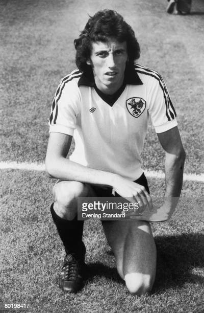 Footballer Tom Ritchie of Bristol City 21st August 1976 He is playing a match against Arsenal