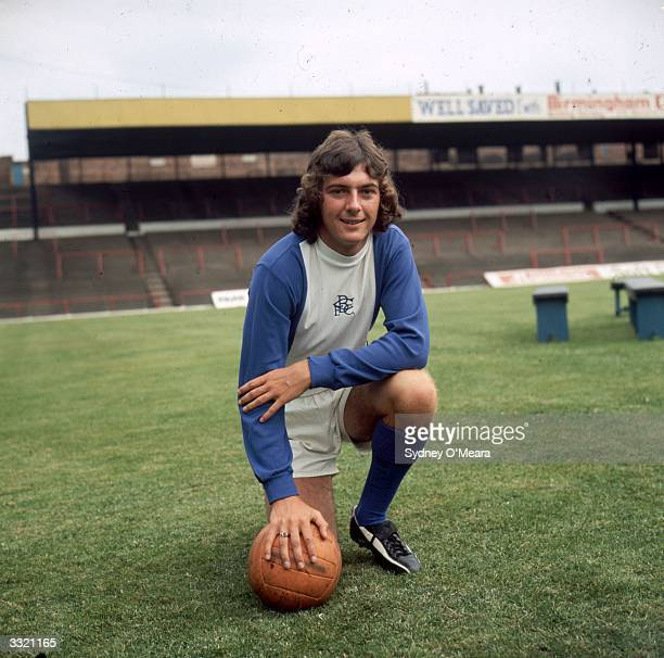 Footballer Trevor Francis of Birmingham City FC