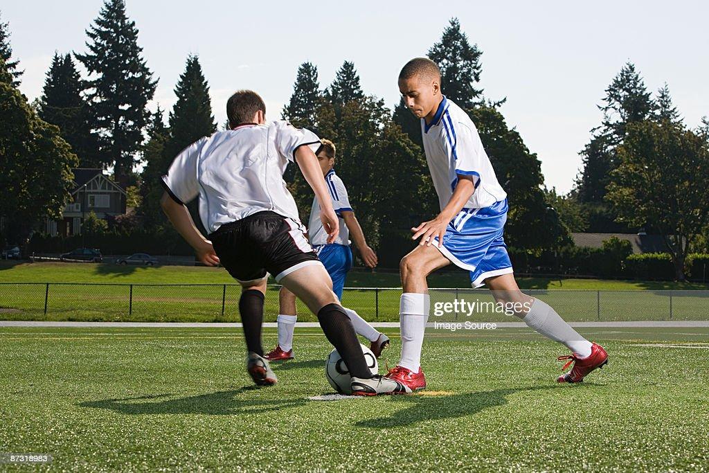 Footballers : Stock Photo