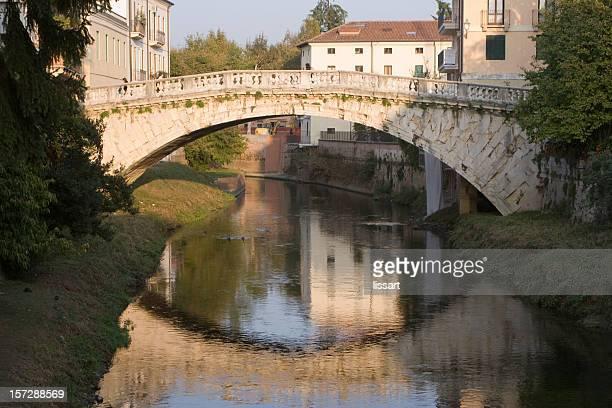 Footbridge in Vicenza Italy