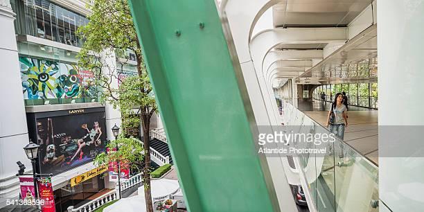 Footbridge near Siam Square