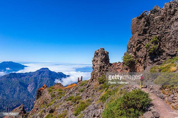 Weg in die Caldera de Taburiente National Park, La Palma