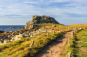 Footpath to a rock