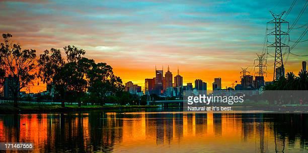 Footscray park (view Melbourne city)