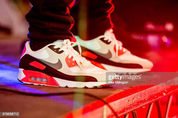 Footsie of Newham Generals perfoms onstage on Day 1 of Lovebox Festival at Victoria Park on July 15 2016 in London England