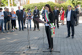 For celebrating events the 73rd anniversary of the San Lorenzo bombing in Rome the mayor of Rome Virginia Raggi participated in several events in the...