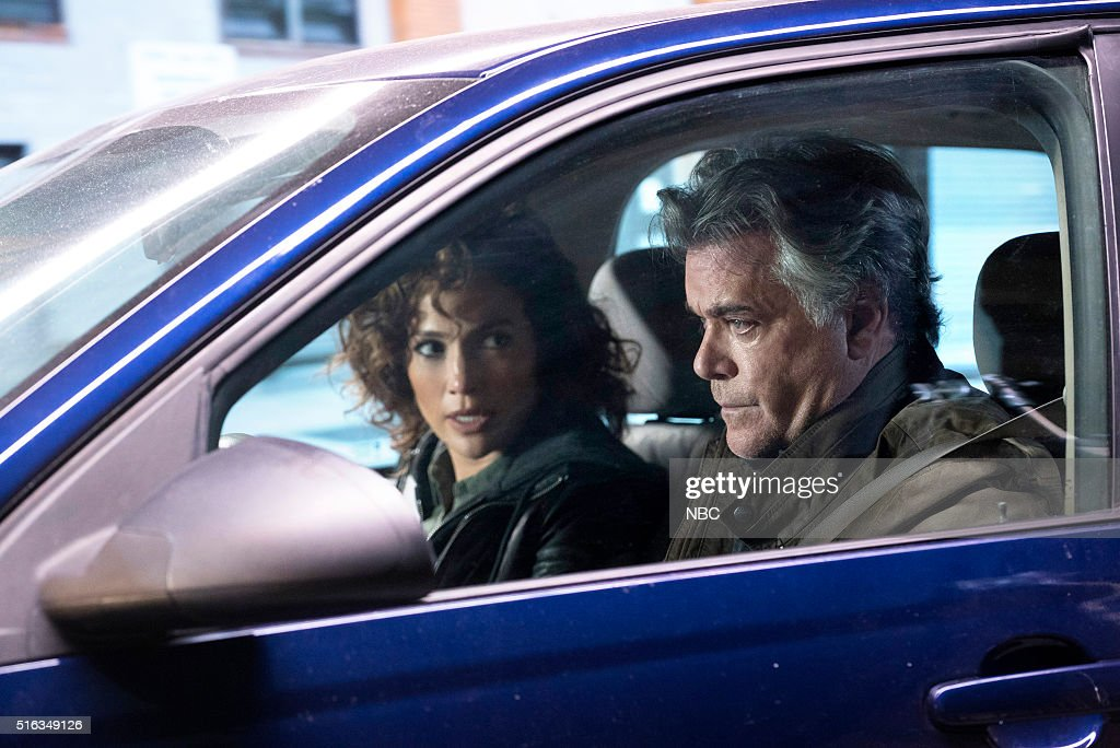 BLUE -- 'For I Have Sinned' Episode 112 -- Pictured: (l-r) Jennifer Lopez as Det. Harlee Santos, Ray Liotta as Bill Wozniak --