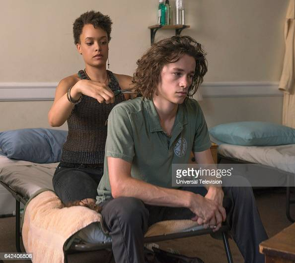 THE PATH 'For Our Safety' Episode 206 Pictured Britne Oldford as Noa Kyle Allen as Hawk Lane