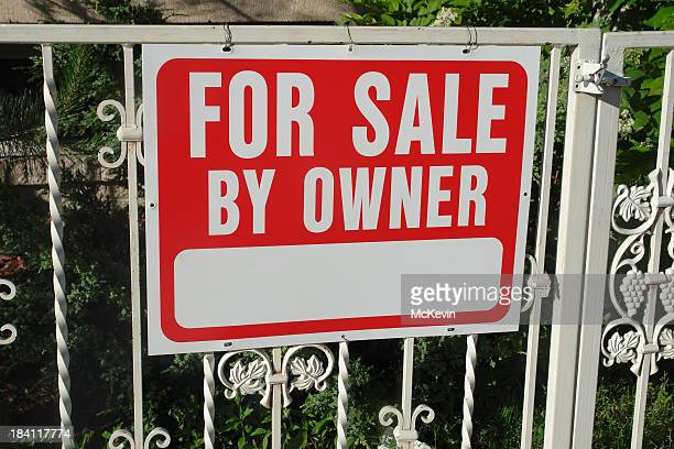 for sale by owner metal sign