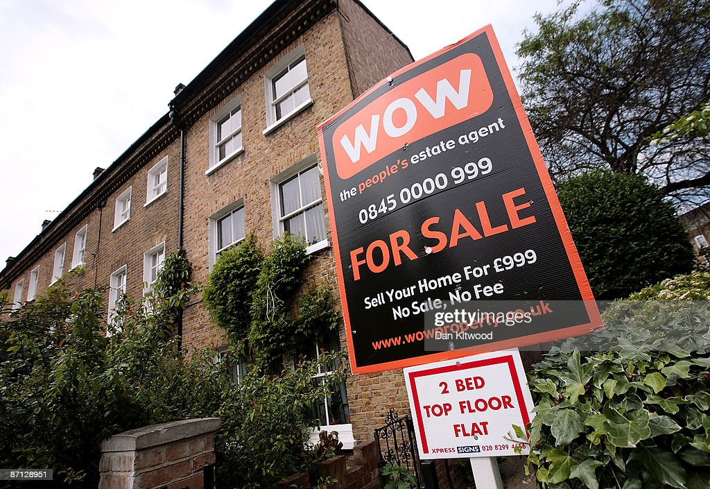 A for sale sign is seen on a house in an area of South London within a few miles of Parliament, more affluent pockets of the neighbourhood are popular with MPs as a location for their second homes due to the proximity of the seat of power on May 12, 2009 in London, England. MPs have come under increasing pressure over revelations concerning their household expenses and second home allowances. Whilst the country at large experiences the effects of a deep recession there is growing unease over an apparent manipulation of a system designed to recompense MPs for costs incurred in serving their constituents.