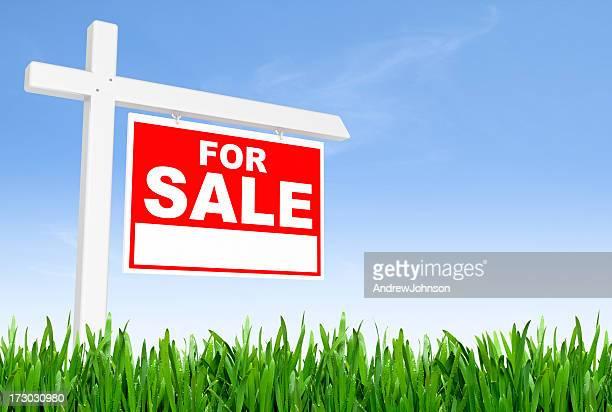 Für Verkauf-Schild