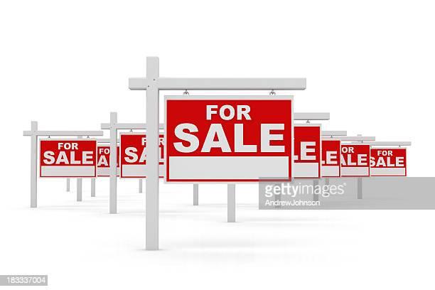 Für Sale-Beschilderung