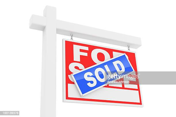 For Sale Sold Sign