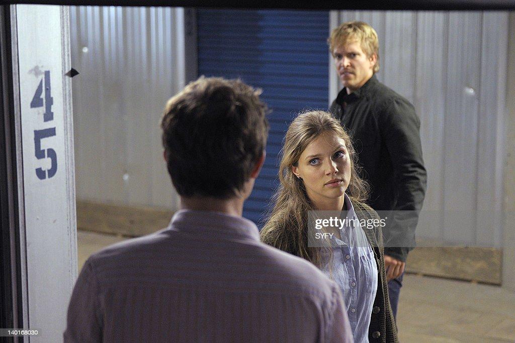 HUMAN -- '(I Loathe You) For Sentimental Reasons' Episode 204 -- Pictured: (l-r) Tracy Spiridakos as Brynn McLean, Jon Cor as Connor McLean --