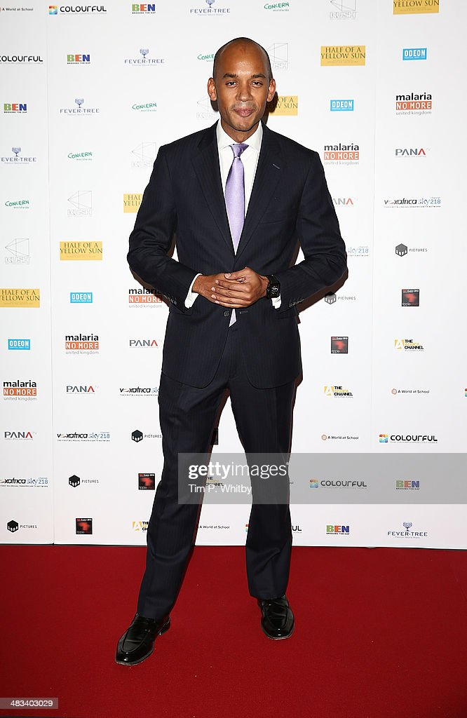 MP for Streatham Chuka Umunna attends the UK Premiere of 'Half Of A Yellow Sun' at Odeon Streatham on April 8, 2014 in London, England.