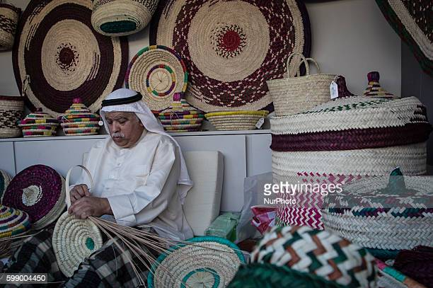 For the 22nd Annual Heriage Festival the Ministry of Culture features Bahraini clothing and the techniques tools and craftsment involved in an...