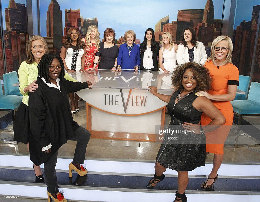 THE VIEW 5/15/14 For the first time in television history all 11 cohosts of ABC's 'The View' present and past shared the same stage live THURSDAY MAY...