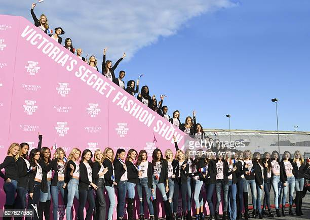 'For the first time the Victoria's Secret Angels are filmed in Paris for THE VICTORIA'S SECRET FASHION SHOW broadcast Monday Dec 5 on the CBS...